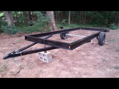 Budget 16 ft trailer build Pt 1