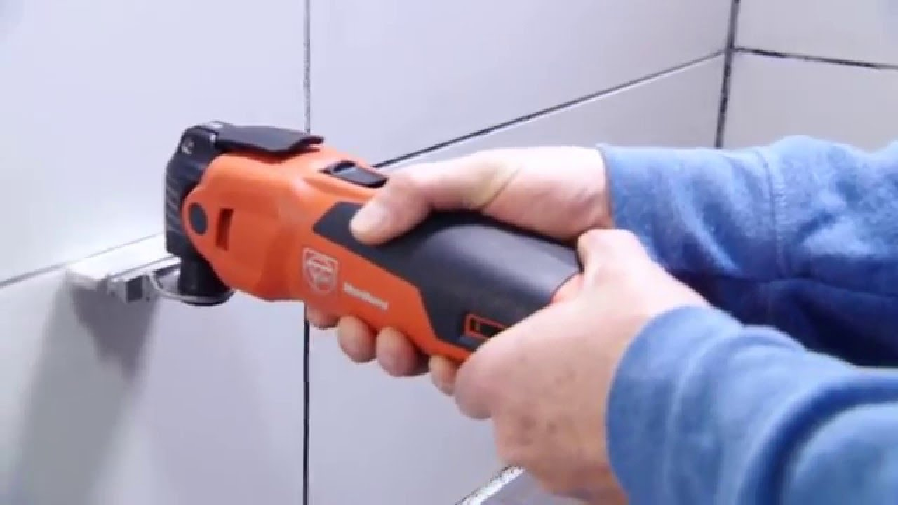 FEIN MultiMaster - Grout Cleaning