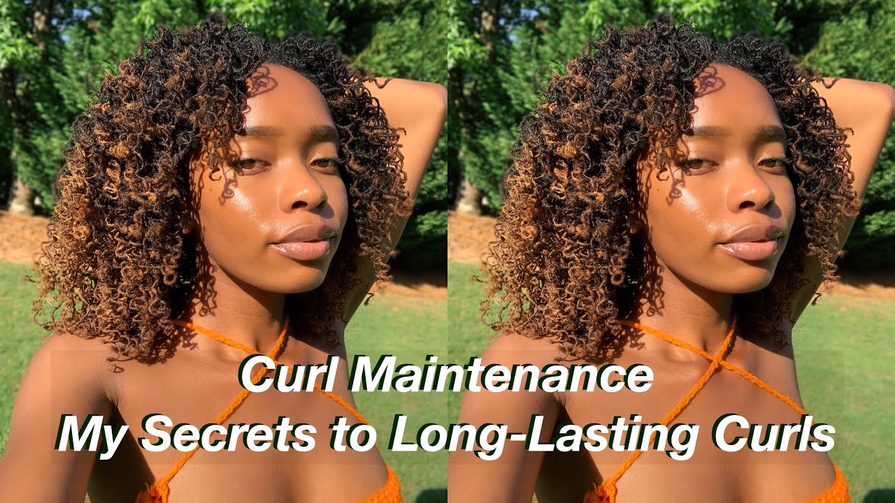 My Curls Lasted 2 Weeks!   loc curls maintenance tips + how to make your curls last longer