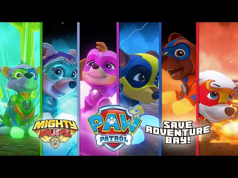 PAW Patrol Mighty Pups Save Adventure Bay - FULL GAMEPLAY