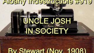 919 - UNCLE JOSH IN SOCIETY, By Stewart (Nov. 1908)