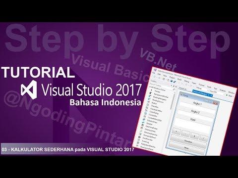 3 kalkulator sederhana tutorial visual studio 2012, 2015, 2017.