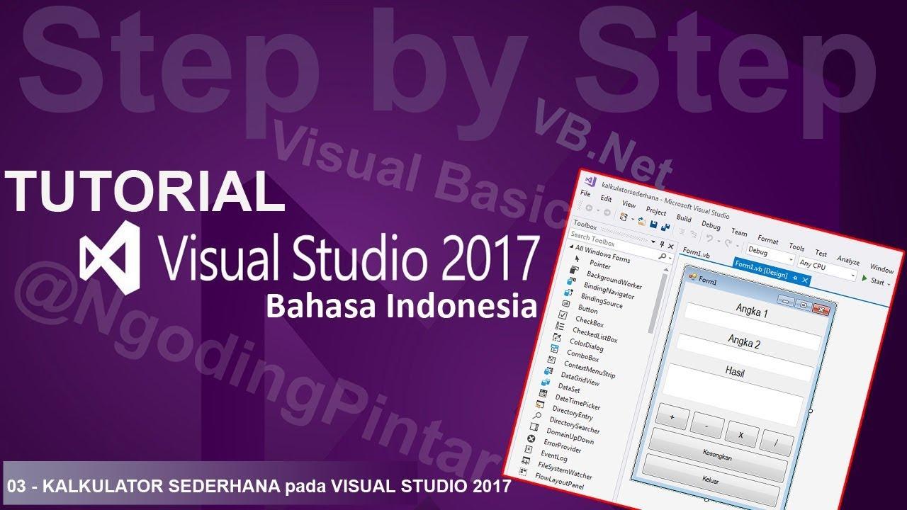 1 instalasi visual studio 2017 tutorial visual studio 2012.