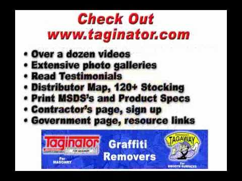 Graffiti Removers Tagaway and Taginator - The Collection