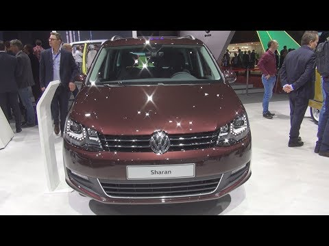Volkswagen Sharan SwissLine 4MOTION 2.0 TDI SCR 184 hp 7-DSG (2018) Exterior and Interior