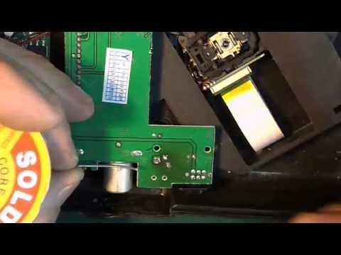 Простой ремонт Игровой и видео DVD приставки.