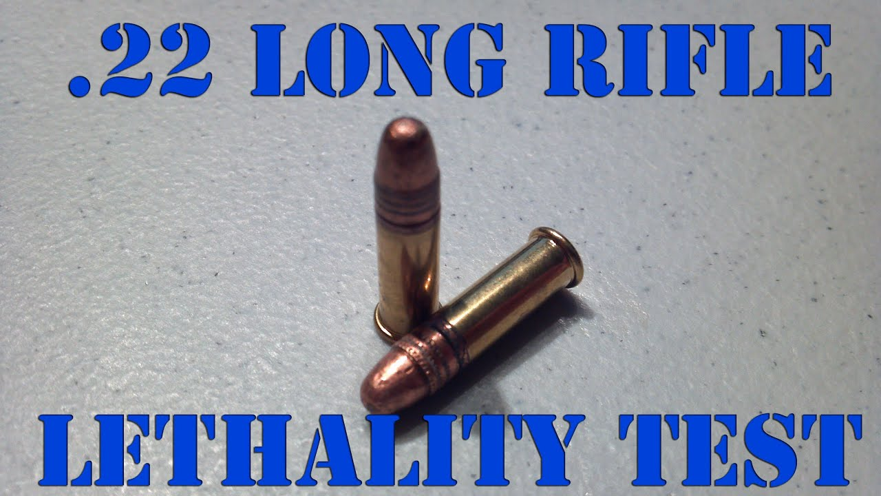 22 long rifle penetration