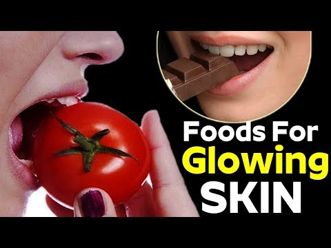 Top 3 Foods for Beautiful Glowing Skin || Health and Beauty