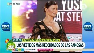 Gala de Viña: Los vestidos más recordados   Bienvenidos