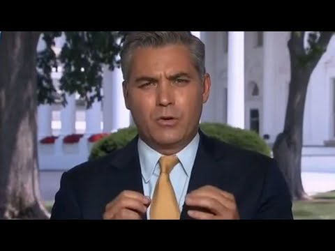 FULL MELTDOWN: CNN'S JIM ACOSTA COMPLETELY SHATTERED AFTER THE 1 THING SEAN SPICER DID TO HIM
