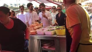 Panini incredibili al mercato di Ortigia- Caseificio Bordieri .