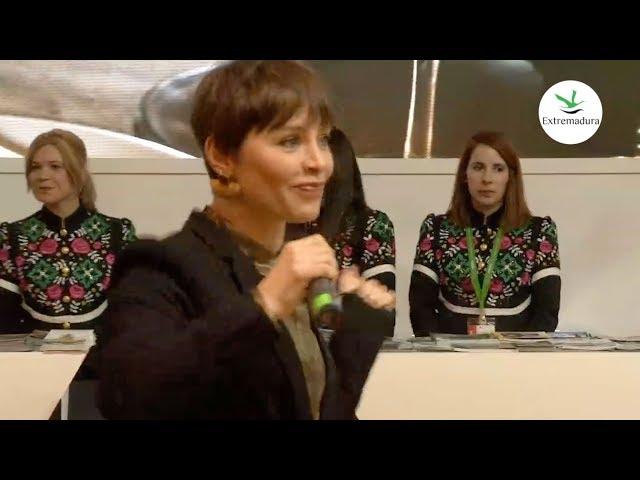 Actuación de Soraya Arnelas - #ExtremaduraEnFitur