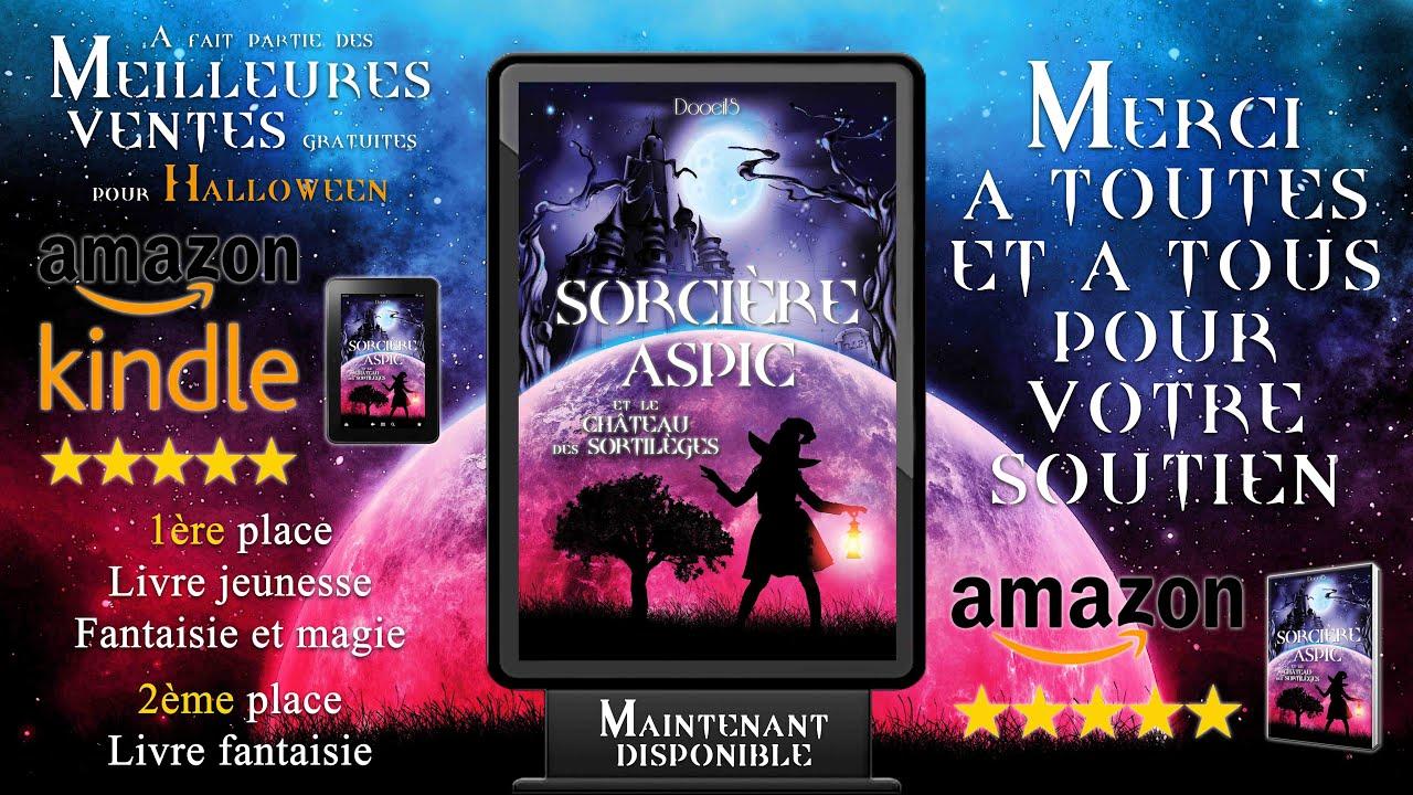 Livre Fantastique Sorciere Aspic Et Le Chateau Des Sortileges