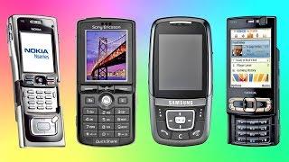 Самые легендарные телефоны середины 2000-х