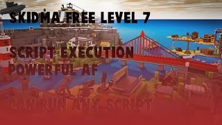 ROBLOX FREE LEVEL 7!! SCRIPT EXECUTION WORKING