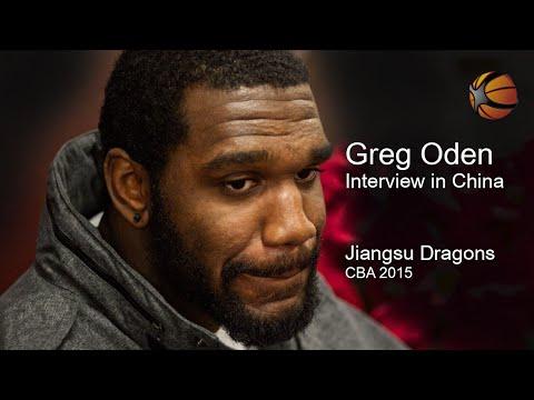 Greg Oden Interview | China 2015 | Jiangsu Dragons CBA