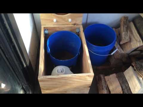 How To Build A Composting Toilet Barrel System Doovi