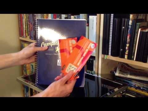 Oxford Campus Notebook + Elba Folder