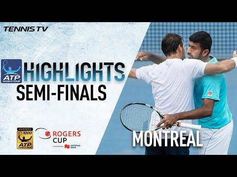 Highlights: Bopanna/Dodig Reach First M1000 Doubles Final Montreal 2017