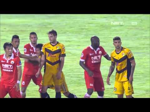 8 Besar: Mitra Kukar vs Persija (3-1) - Match Highlights