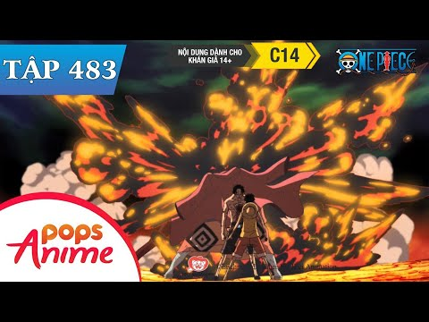 One Piece Tập 483 - Đi Tìm Câu Trả Lời. Ace Hỏa Quyền Gục Ngã Trên Chiến Trường - Đảo Hải Tặc