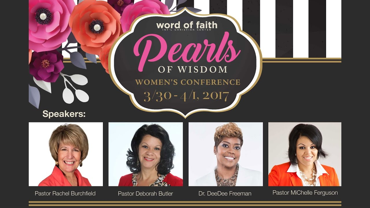 Pearls Of Wisdom Women's Conference 2017