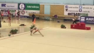 Афина Загоруйко, 2006 г.р. Упражнение без предмета.