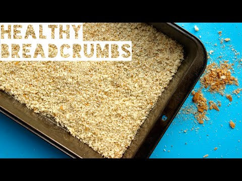Healthy Breadcrumbs Recipe | How To Make Homemade Breadcrumbs