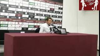 Reggina-Vibonese 0-0 Conferenza Stampa Post Partita intera (19/03/2017)