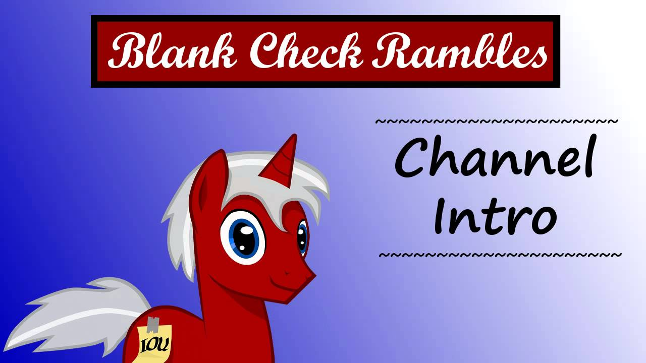 blank check image