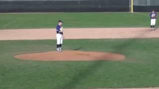 Niagara Baseball vs Quinnipiac University (Cody Eckerson-PITCHING-STRIKE OUT!) Apr 9, 2017