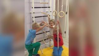 Подарок детям на новый год - шведская стенка усиленная(Подарок детям на новый год - шведская стенка усиленная http://shvedsteno4ka.ru/ Бесплатный звонок: 8-800-333-85-07., 2016-12-15T15:26:27.000Z)