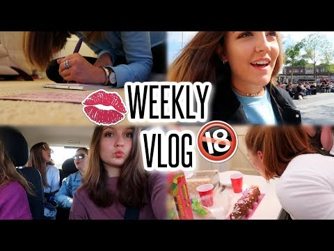 WEEKLY VLOG: 18th Birthdays, Carpool Karaoke, Fake Lip Fillers & London Madness!!