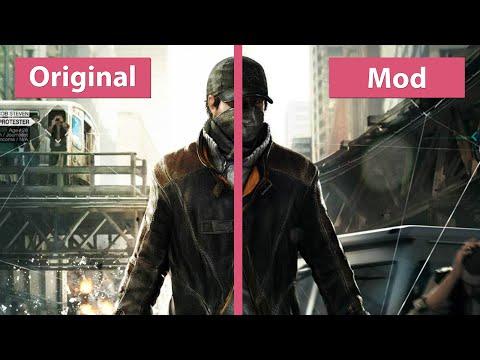 Watch Dogs - TheWorse Mod 1 0 vs  Original PC Ultra Graphics