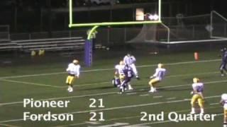 Ann Arbor Pioneer vs. Dearborn Fordson high school football highlights Oct. 23, 2009