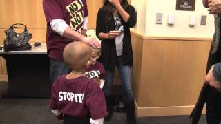 Boy Gets Christmas Wish & Meets WWE's Daniel Bryan
