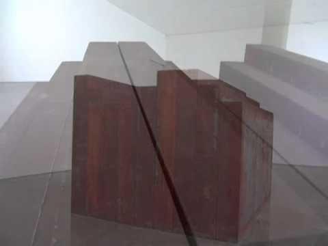 Richard Serra 06 Exhibit Elevational Mass Sculpture