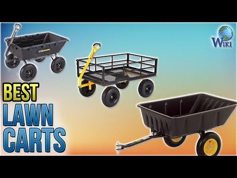10-best-lawn-carts-2018