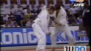 JUDO 1995 World Championships: Yukimasa Nakamura 中村 行成 (JPN) - Udo Quellmalz (GER)