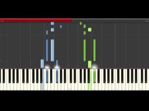 TheFatRat Fly Away Anjulie  Piano Midi tutorial Sheet app Cover Karaoke