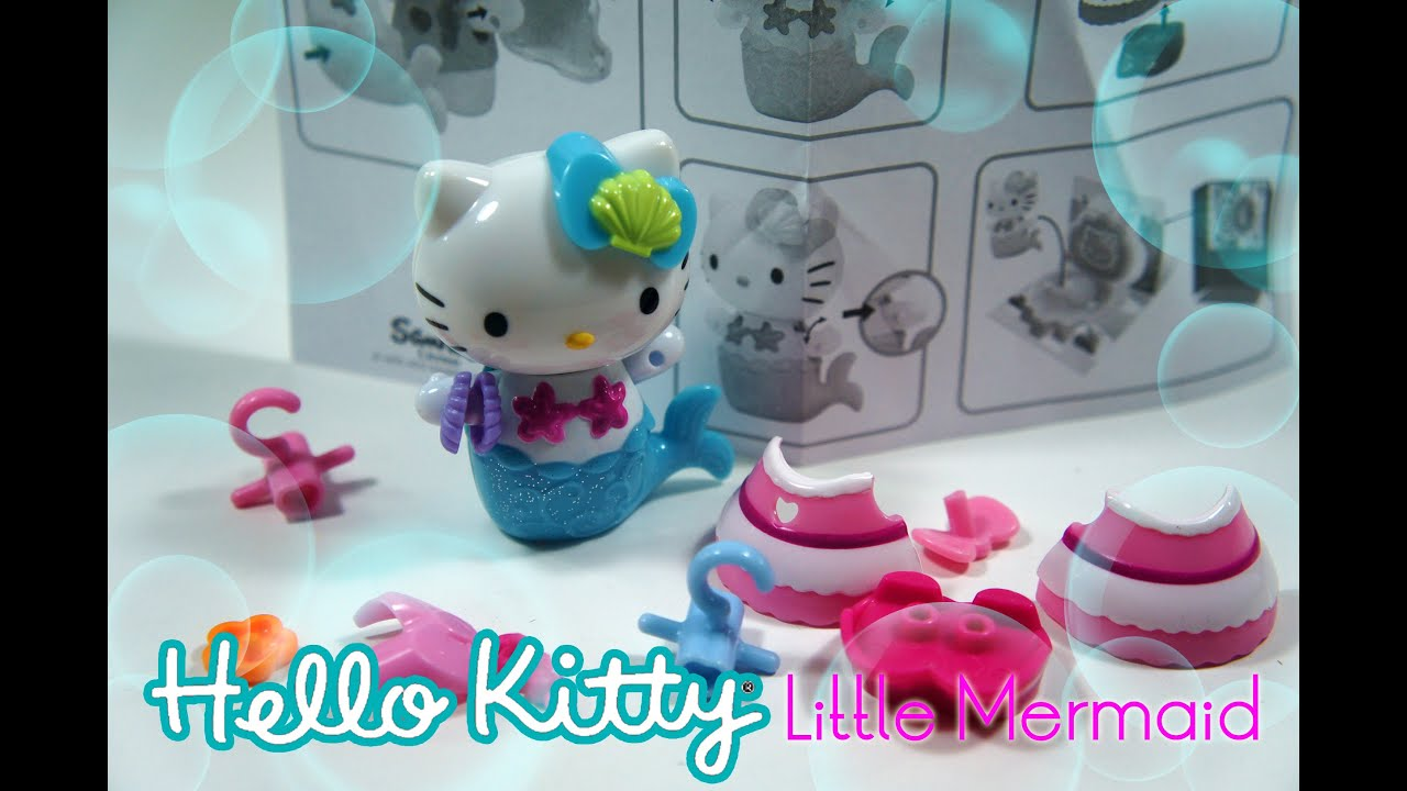 1370bc5fd Hello Kitty Toy Review!! - It's A Hello Kitty Little Mermaid ...
