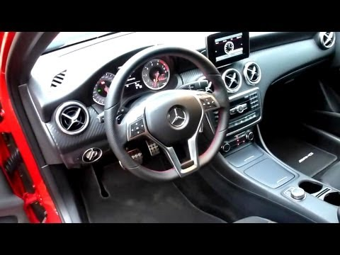 2012 mercedes benz a 250 amg sport interieur in detail 11 for Interieur sport youtube