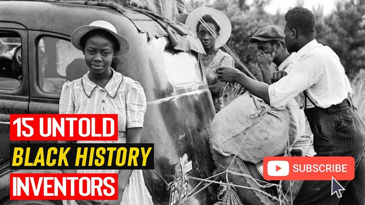 15 Untold Black History Inventors Wasn't Taught At School