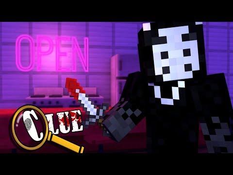 Minecraft Clue - HALLOWEEN 1955! | Season Two Part 1 - Minecraft Murder Mystery