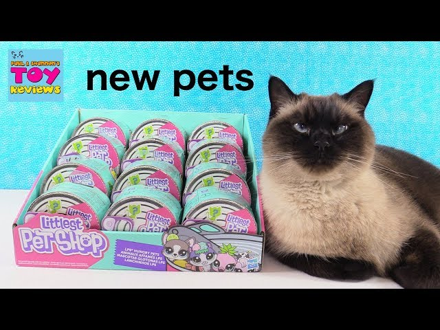 Littlest Pet Shop LPS Hungry Pets Blind Bag Toy Review | PSToyReviews