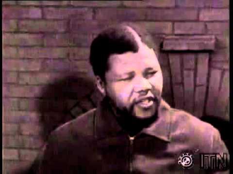 First Nelson Mandela interview