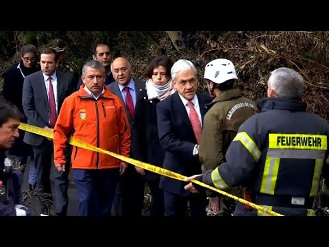 Chilean president visits nursing home after fire kills 10