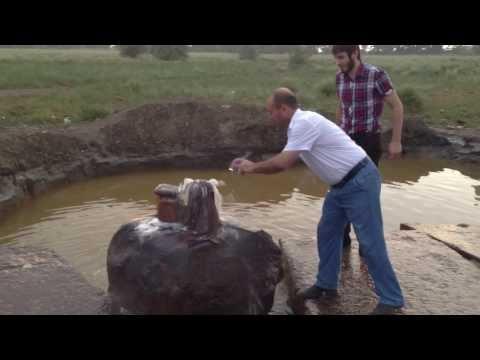 Горящая вода в Дагестане