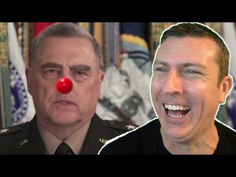 Our Military Is Now Run By a Complete Clown ?