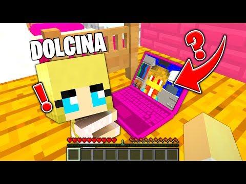 DOLCINA CONOSCE UN BAMBINO SU INTERNET!! - Famiglia di Minecraft #30